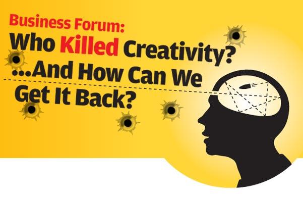 review how to kill creativity