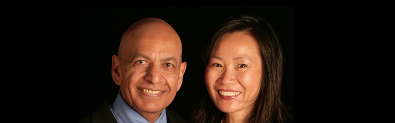 Prof Anil Gupta and Haiyan Wang
